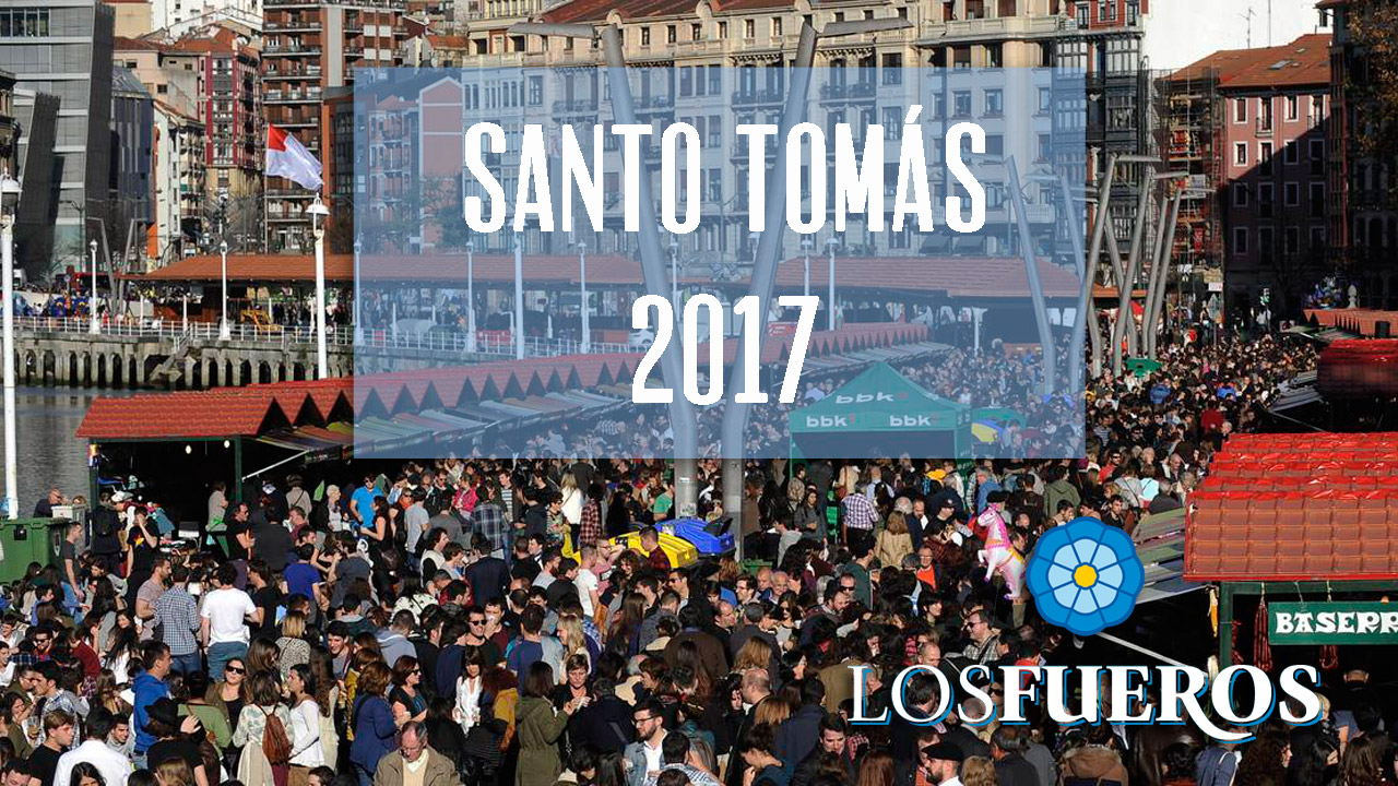 Menú Santo Tomás Bilbao